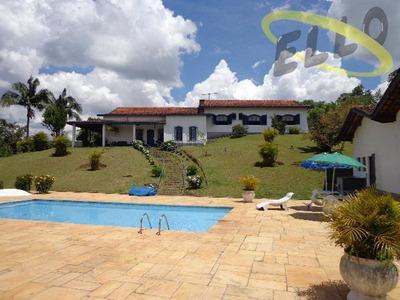Chácara Residencial À Venda, São Roque. - Ch0072