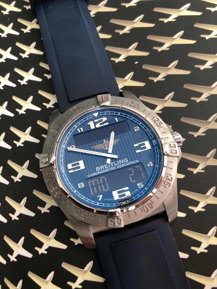 Breitling Aerospace C/ Certificado,docs E Estado De Novo