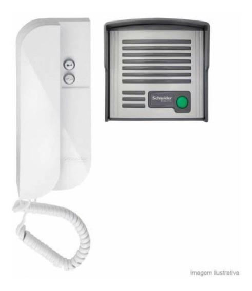 Porteiro Eletrônico Schneider Arbus 1.1 Interfone Portaria