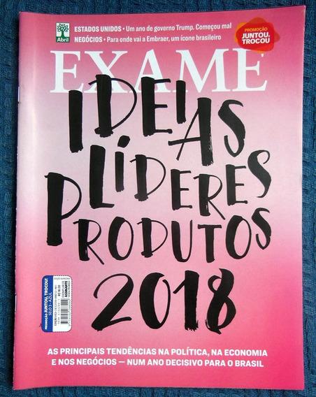 Revista Exame 1153 - 24/01/2018 - Líderes 2018 - 1 Ano Trump