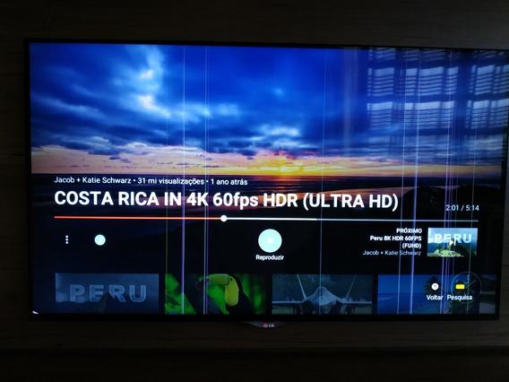 Tv Uhd 4k Led Ips 49 Polegadas Defeito - Leia O Anúncio