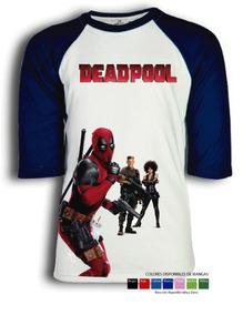 Playera Deadpool 2 Para Niño, Dama O Caballero