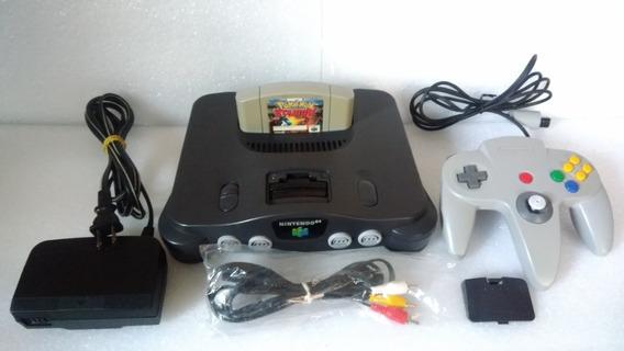 Nintendo 64, Cabo Av, Pokémon Original, Fonte, E Controle