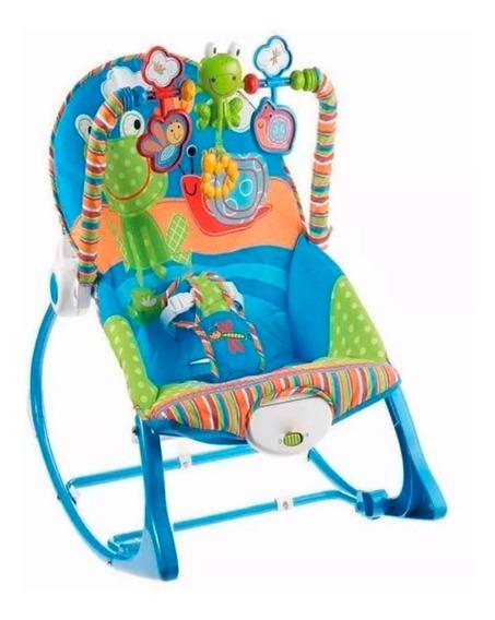 Silla Mecedora Zippy Toys Vibracion Musica Juegos Babymovil