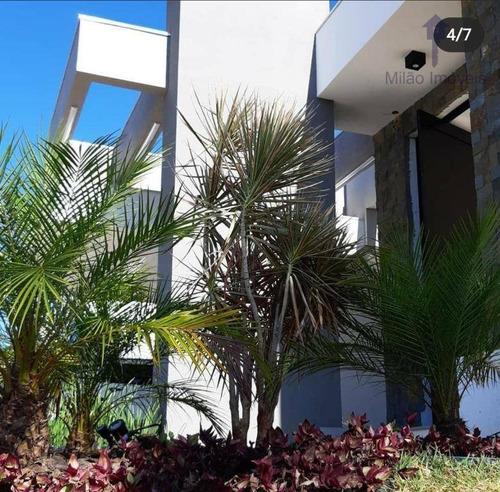 Imagem 1 de 30 de Casa Térrea, 3 Suítes À Venda, 295 M² Por R$ 2.300.000 - Alphaville Nova Esplanada I - Campolim - Votorantim/sp - Ca0518