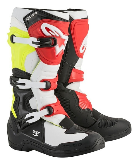 Botas Alpinestars Tech 3 Bk Motocross No Comp 5 Tech 7