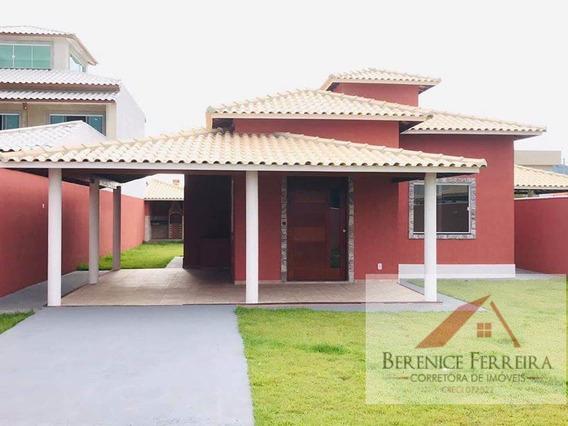Casa À Venda No Bairro Itaipuaçu Em Maricá/rj - 125