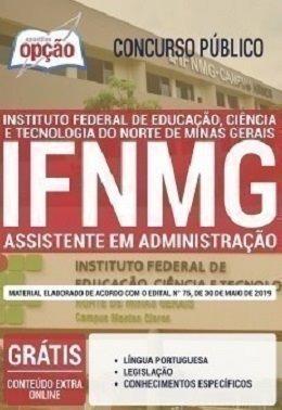 Apostila Ifnmg 2019 - Assistente Em Administração [+brinde]