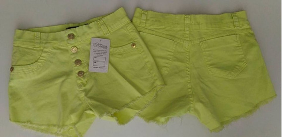 Kit 20 Shorts Jeans Feminina Hot Pant Com Laycra E Sem, Atac