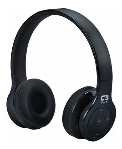 Fone De Ouvido Com Mic Bluetooth 3.0 H-w530b Bk C3tech