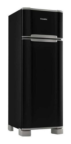 Geladeira/refrigerador 276 Litros 2 Portas Preto - Esmaltec - 110v - Rcd34