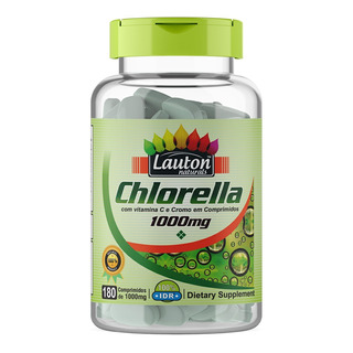 Clorella 1000mg - 180 Tabs Lauton Nutrition