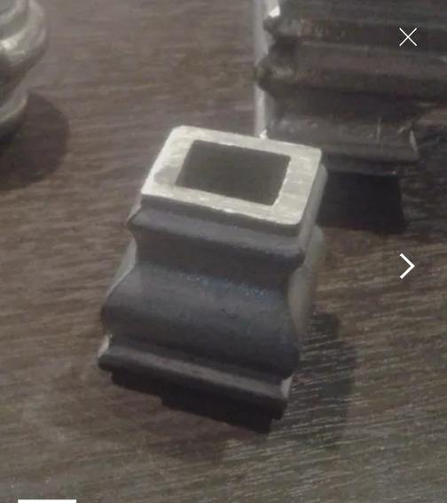 Aplique Reja Medio Intermedio Cuadrado 12 Y 14mm