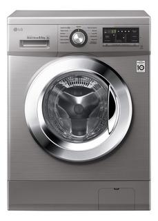 Lavarropas automático LG WM8514EE6 stone silver 8.5kg 220V