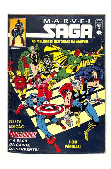 Marvel Saga - Nº 1 - Vingadores - Hq