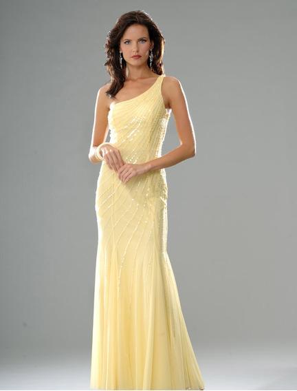 Vestido De Fiesta Largo Importado Modelo Exclusivo!
