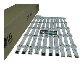 Kit Barra Led Tv Lg 42ln5400 42ln5700 42la6130 Frete Gratis