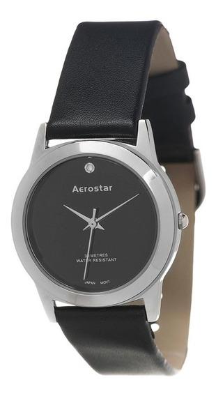 Reloj Aerostar A152-bk Movimiento Japonés 1 Año De Garantía