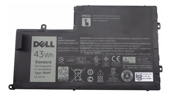 Bateria Dell 15 5445 5447 5448 5545 5547 5548 Trhff Original