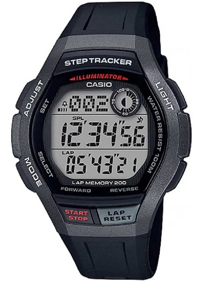Relogio Casio Masculino Step Tracker Ws-2000h 1avdf Digital
