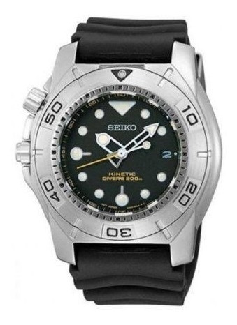 Big Boss. Seiko Ska293p2: Kinetic 200m. Made In Japan.