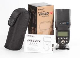 Flash Yongnuo Yn 560 Iv Para Canon Nikon Sony - Universal