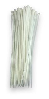 Cinchos Plásticos Blancos En Bolsa De 100 Piezas De 37 Cm.