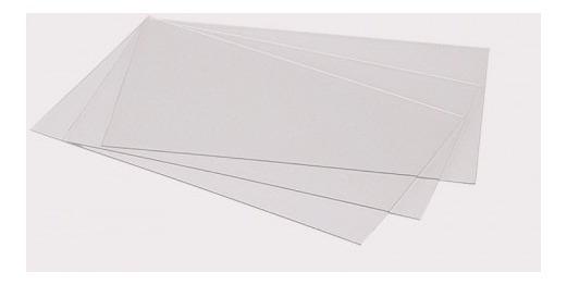 Acetato Transparente 50 X 70 Cm, 200 Mic X 10 Unidades