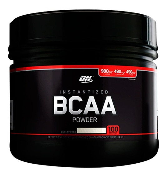 Bcaa Black 300 Grs Optimum Nutrition Aminoacidos