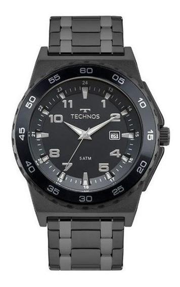 Relógio Technos Masculino Racer Preto 2115mqn/4a
