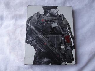 Call Of Duty Advance Warfare Metal Case Steelcase Ps3