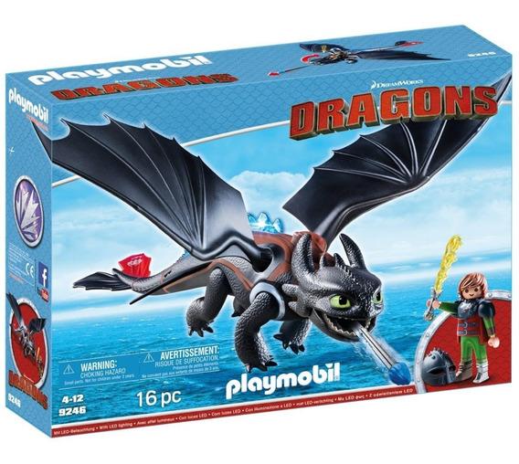 Brinquedo Playmobil Dragons Soluço E Banguela Sunny 9246