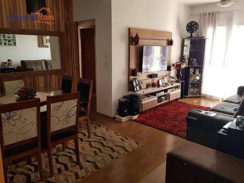 Apartamento Com 3 Dormitórios À Venda, 88 M² Por R$ 375.000,00 - Parque Santo Antônio - Jacareí/sp - Ap10180