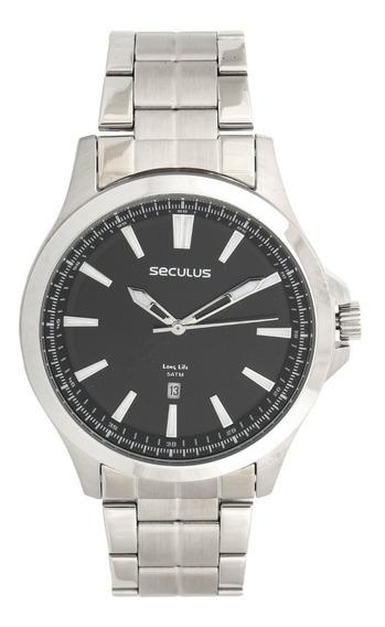 Relógio Seculus Unissex 20530gosvna1 Prata