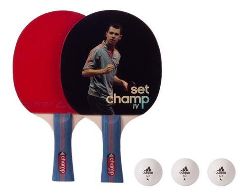 Set Ping Pong adidas - Paletas Y 3 Pelotas - Agm 14479