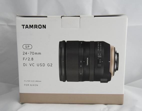 Lente Tamron 24-70mm G2 Nikon
