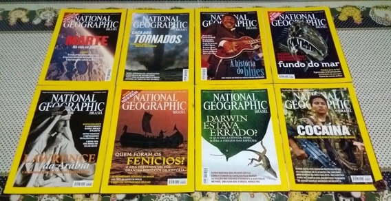 Revista National Geographic - Lote Com 8 Edições (2004)