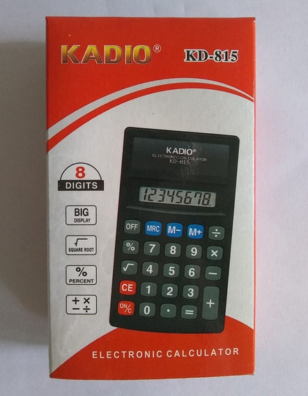Calculadora Kadio 8 Digitos