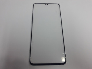 Pantalla Glass Sasmsung A70 Color Negro
