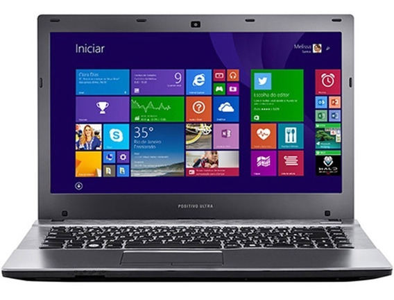 Notebook Positivo S4000 Intel Core I5 8gb Hd 500gb Seminovo
