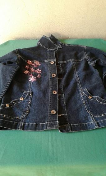Jaqueta Jeans Infantil Feminino 8