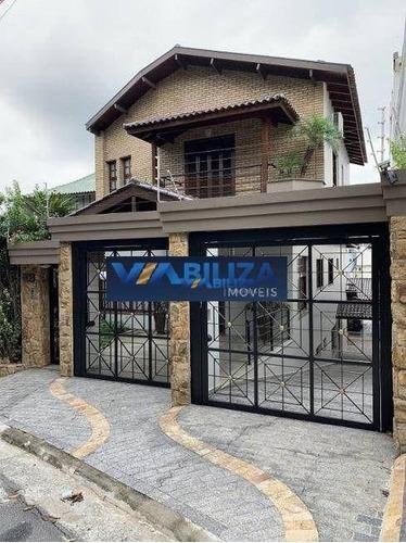 Imagem 1 de 4 de Sobrado Com 4 Dormitórios À Venda, 750 M² Por R$ 3.600.000,00 - Jardim Franca - São Paulo/sp - So0852
