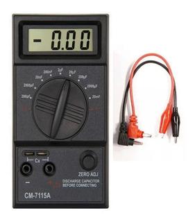Capacímetro Digital Capacitores Condensadores 200pf A 20mf