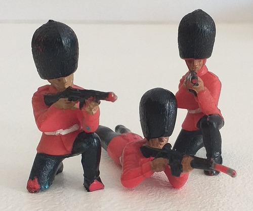 Guardia Real Inglesa Figura Soldadito Plastico Años '60