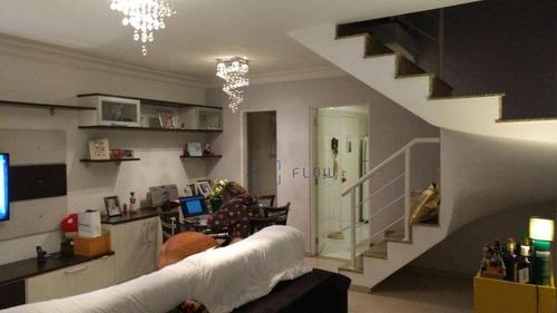 Imagem 1 de 26 de Sobrado Com 3 Dormitórios E 4 Vagas - Vila Brasílio Machado - Ca0717