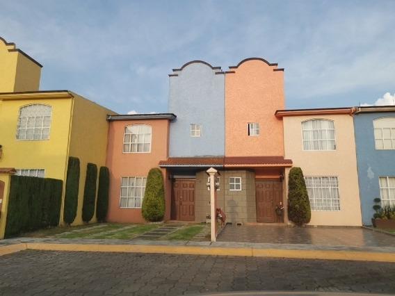 Casa Amueblada En Renta En Hacienda La Galia Toluca