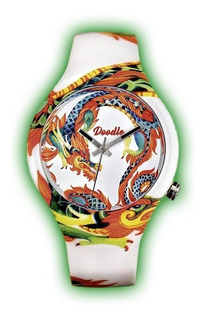 Reloj Doodle Dragon Mood Dodr002 Unisex Originales Envios