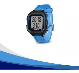Reloj Garmin Forerunner 25 Azul Seguimiento Distancia Tiempo Ritmo Y Fecuencia Cardiaca En Muñeca Gpsuno - 20 Años Vend
