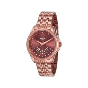 Relógio Seculus Feminino Analógico Rosê 20599lpsvms3k1