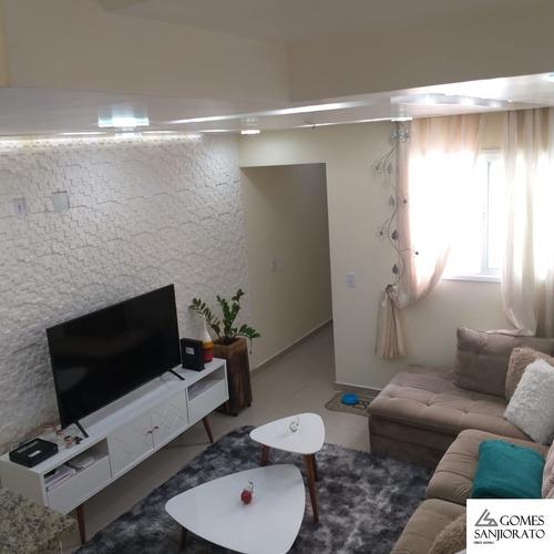 Imagem 1 de 18 de Apartamento Para A Venda No Bairro Vila Alzira Em Santo André - Sp . - Ap01405 - 69427286